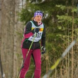 Skiing 30 km - Åsa Hammar (6103)