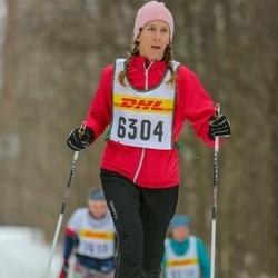Skiing 30 km - Linda Höljö (6304)
