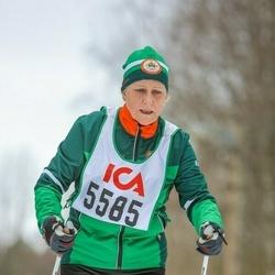 Skiing 30 km - Kristina Emanuelsson (5585)
