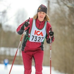 Skiing 30 km - Maria Andersson (7327)