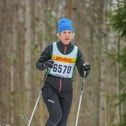 Skiing 30 km - Karin Lundgren (6570)