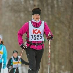 Skiing 30 km - Carita Sandros (7355)