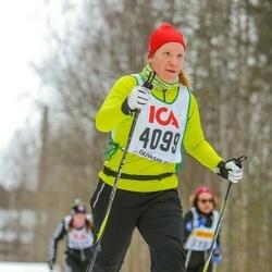 Skiing 30 km - Jenny Svensson (4099)