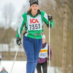 Skiing 30 km - Anna Björklund (7353)