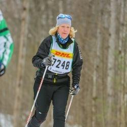 Skiing 30 km - Kristina Magnusson (7248)