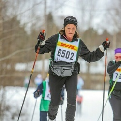 Skiing 30 km - Ann-Catrine Johansson (6502)