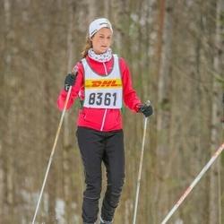 Skiing 30 km - Kristin Axelsson (8361)