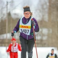 Skiing 30 km - Ann-Britt Wallismo (5407)