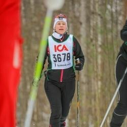 Skiing 30 km - Åsa Hansson (3678)