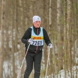 Skiing 30 km - Christina Edvinsson (7261)