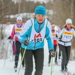 Skiing 30 km - Eva Jungefeldt Nordgren (7193)