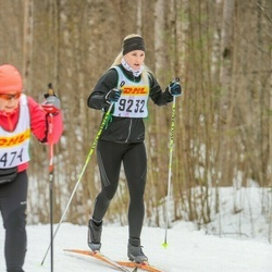 Skiing 30 km - Ebba Didner (9232)