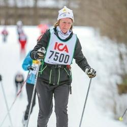 Skiing 30 km - Charlotta Falk (7500)