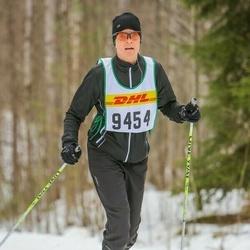 Skiing 30 km - Barbro Andersson (9454)
