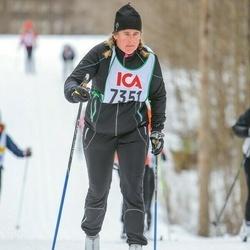 Skiing 30 km - Elisabet Cassegård (7351)