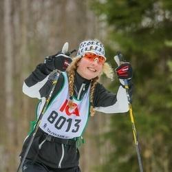 Skiing 30 km - Malin Kjell (8013)