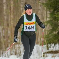 Skiing 30 km - Sara Fhager (7444)