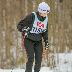 Skiing 30 km - Tina Benditz (11500)
