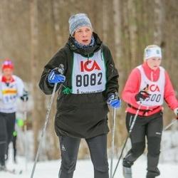 Skiing 30 km - Amanda Wall (8082)