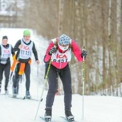 Skiing 30 km - Emelie Nilsson (8451)