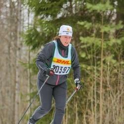 Skiing 30 km - Alexandra Lindén (10397)