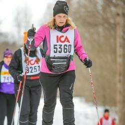Skiing 30 km - Agnetha Bornström (5360)