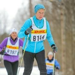 Skiing 30 km - Elsie Kärrengård (8144)