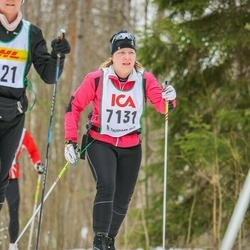 Skiing 30 km - Jenny Björklund (7131)
