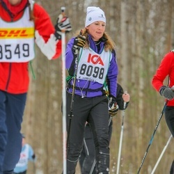 Skiing 30 km - Jenny Björneke Ekstam (8098)