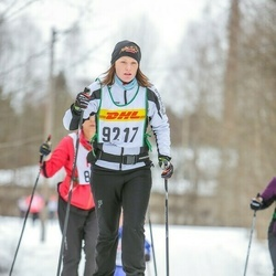 Skiing 30 km - Petra Nordquist (9217)