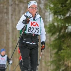 Skiing 30 km - Annette Wigholmwallin (8273)