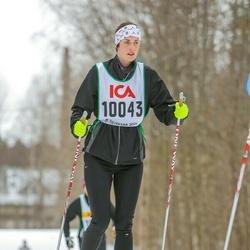 Skiing 30 km - Malin Karlsson (10043)