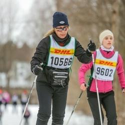 Skiing 30 km - Jeanette Gullsby (10566)