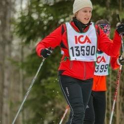 Skiing 30 km - Cajsa Skarin (13590)