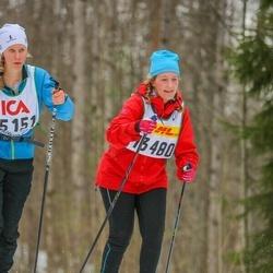 Skiing 30 km - Jenny Lundgren (13480)