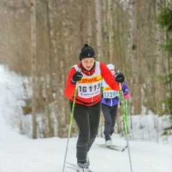 Skiing 30 km - Jasmin Ahnfors (16113)