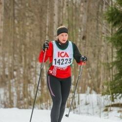 Skiing 30 km - Ellen Nodbrant (14223)