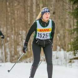 Skiing 30 km - Charlotta Brishammar (15252)