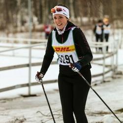 Skiing 30 km - Alexandra Carlsson (5291)