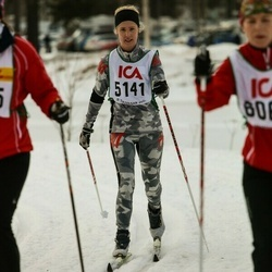 Skiing 30 km - Karin Hartelius (5141)