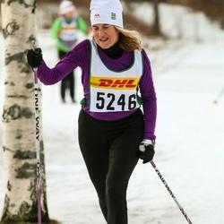 Skiing 30 km - Eva Thunell (5246)