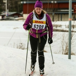 Skiing 30 km - Christina Bagsjøberget (5209)