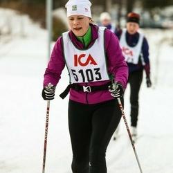 Skiing 30 km - Åsa Albertsen (5103)