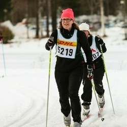 Skiing 30 km - Jenny Bransell (5219)