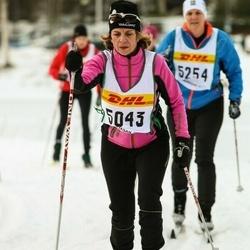 Skiing 30 km - Christel Ejdebrink (5043)