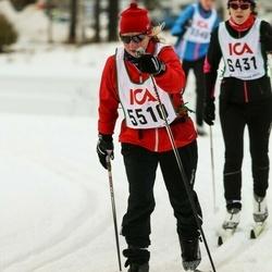 Skiing 30 km - Christina Sälgblad (5510)