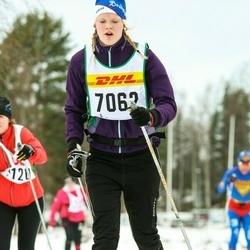 Skiing 30 km - Elin Arons (7062)
