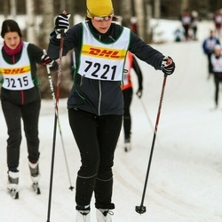 Skiing 30 km - Charlotta Säfström (7221)
