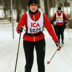 Skiing 30 km - Agneta Hjelm (6609)