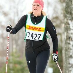 Skiing 30 km - Eva Francke (7427)